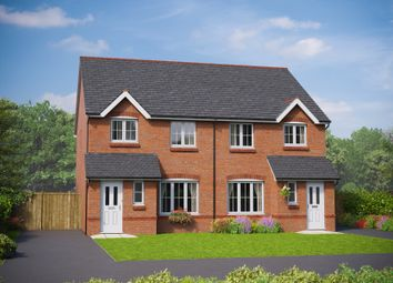 Thumbnail 3 bedroom semi-detached house for sale in The Clwyd, St. George Road, Abergele, Conwy