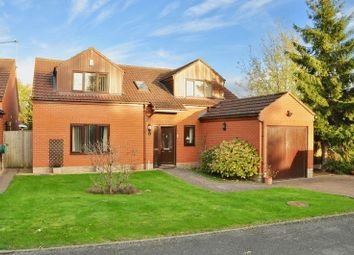 Thumbnail 4 bed detached house for sale in Orchard Grove, Offenham, Evesham