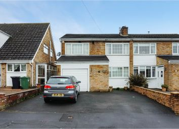 Thumbnail 3 bed semi-detached house for sale in School Close, Whitchurch