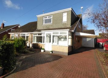 Thumbnail 3 bedroom semi-detached bungalow for sale in Kingsley Road, Haslington, Crewe