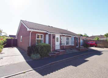 Thumbnail 2 bed semi-detached bungalow to rent in Millway, Wymondham, Norfolk