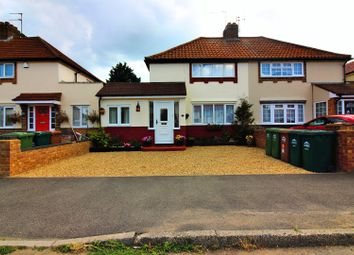 Thumbnail 4 bed semi-detached house for sale in Hazel Grove, Staines-Upon-Thames