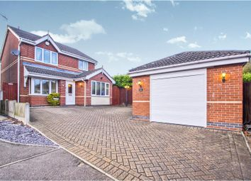 Thumbnail 3 bed detached house for sale in Sapphire Close, Rainworth, Mansfield