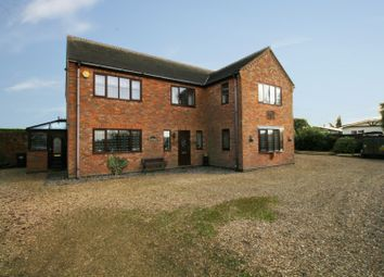 Thumbnail 4 bed detached house for sale in West Drove North, Spalding, Lincolnshire