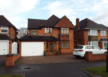 Thumbnail 5 bed detached house for sale in Buryfield Road, Solihull, West Midlands