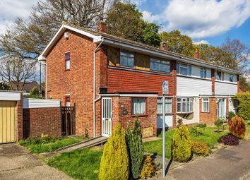 Thumbnail 3 bed end terrace house for sale in Saunders Close, Crawley