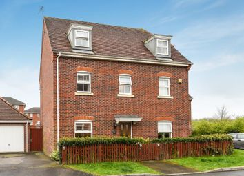 Thumbnail 4 bed detached house for sale in Cavalry Close, Thatcham
