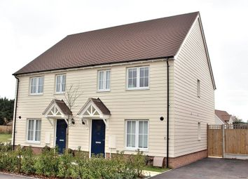 Thumbnail 3 bed semi-detached house for sale in Felsted, Dunmow, Essex