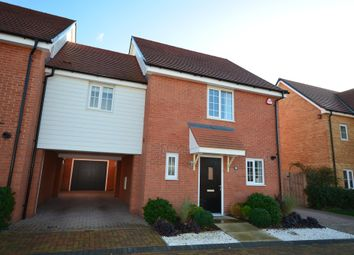Thumbnail 3 bed link-detached house for sale in Stanley Road, Great Chesterford, Saffron Walden