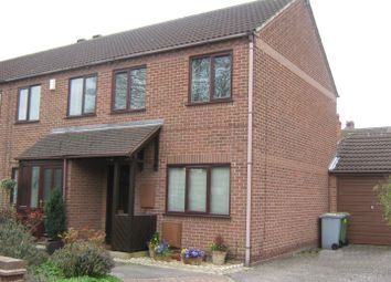 Thumbnail 2 bed end terrace house to rent in The Tryst, Newark