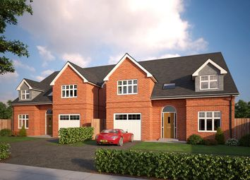 Thumbnail 4 bed detached house for sale in Tattenhall, Chester, Cheshire West And Chester