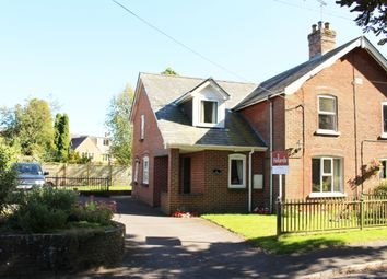 Thumbnail 4 bed semi-detached house for sale in Church Lane, Bishops Sutton, Alresford