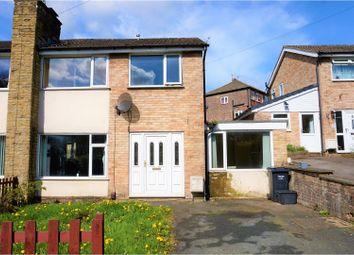 Thumbnail 4 bed semi-detached house for sale in Hill Park Avenue, Halifax