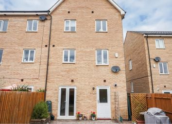 Thumbnail 4 bed end terrace house for sale in Harn Road, Peterborough