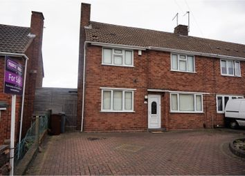 Thumbnail 3 bed semi-detached house for sale in Wordsworth Avenue, Wolverhampton