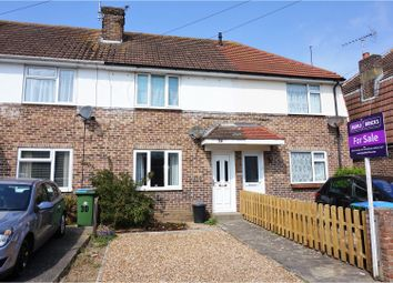 Thumbnail 2 bed terraced house for sale in Conbar Avenue, Rustington, Littlehampton