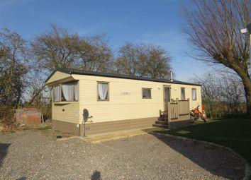 Thumbnail 3 bedroom mobile/park home for sale in New River Bank, Littleport, Ely
