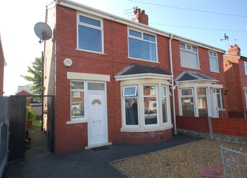 Thumbnail 3 bed semi-detached house to rent in Selby Avenue, Blackpool