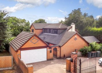 Thumbnail 4 bed detached house for sale in York Close, Chapel Street, Measham, Swadlincote