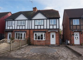 Thumbnail 3 bed semi-detached house for sale in Hazeloak Road, Solihull