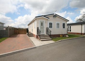 Thumbnail 2 bedroom mobile/park home for sale in The Close, Watton Road, Stow Bedon, Attleborough
