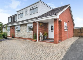 Thumbnail 4 bed semi-detached bungalow for sale in Coombe Park Road, Stone, Staffordshire