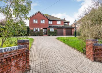 Thumbnail 5 bed detached house for sale in Stoke Common Road, Bishopstoke, Eastleigh