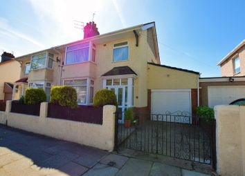 Thumbnail 3 bed semi-detached house for sale in Mount Road, Birkenhead