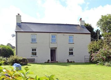 Thumbnail 4 bed farmhouse for sale in Eglwyswrw, Crymych, Sir Benfro
