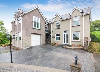 Thumbnail 4 bed detached house for sale in Poplars Road, Mardy, Abergavenny