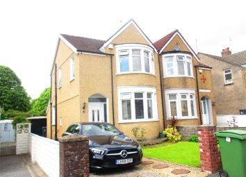 Thumbnail 3 bed semi-detached house for sale in Fairways Crescent, Fairwater, Cardiff