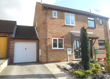 Thumbnail 1 bed semi-detached house to rent in Caldermill Drive, Oakwood Derby