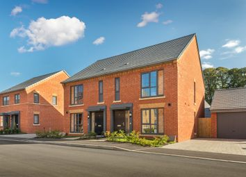 "Thumbnail 3 bed end terrace house for sale in ""Belvoir"" at Louisburg Avenue, Bordon"