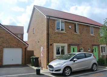 Thumbnail 3 bed semi-detached house for sale in Cowslip Crescent, Lyde Green, Bristol