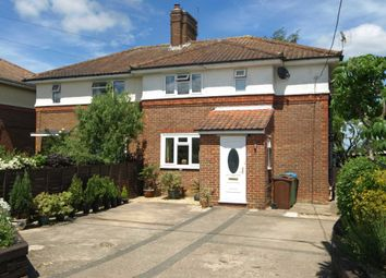 Thumbnail 3 bed semi-detached house for sale in Portway Road, Twyford, Buckingham