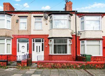 Thumbnail 3 bed terraced house for sale in Inglemere Road, Rock Ferry, Birkenhead