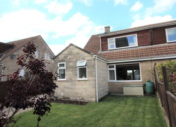 Thumbnail 3 bed semi-detached house for sale in Bellfield, Leigh Upon Mendip, Radstock