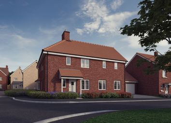 Thumbnail 4 bed detached house for sale in Plot 3, 'the Chancellors', Bedford Road, Moggerhanger