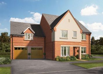 Thumbnail 5 bed detached house for sale in Knightley Road, Gnosall, Staffordshire