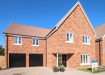 Thumbnail 5 bed detached house for sale in Pampisford Road, Abington, Cambridge