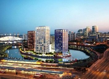 Thumbnail 1 bed flat for sale in Dawsonne House, London City Island, London