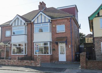 Thumbnail 4 bed semi-detached house for sale in Norman Road, Ramsgate