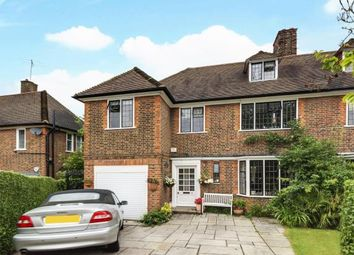 Thumbnail 5 bed semi-detached house for sale in Milton Close, Hampstead Garden Suburb, London
