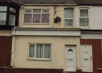 Thumbnail 3 bedroom terraced house to rent in Haig Road, Blackpool