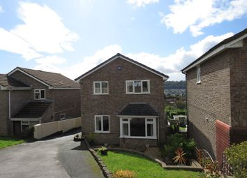 Thumbnail 4 bed detached house for sale in Lynmouth Close, Plympton, Plymouth