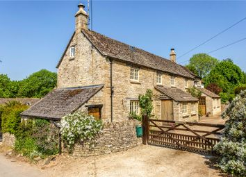 Thumbnail 4 bed detached house for sale in Duntisbourne Leer, Cirencester, Gloucestershire