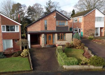 Thumbnail 4 bed detached house for sale in Cranwood Road, Tittensor, Stoke-On-Trent