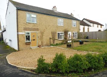Thumbnail 2 bedroom semi-detached house for sale in High Street, Mepal, Ely