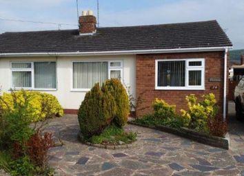 Thumbnail 2 bed semi-detached bungalow to rent in Lon Garnedd, Abergele