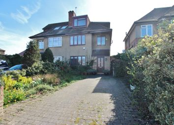 Thumbnail 4 bed semi-detached house for sale in St. Wilfrids Road, New Barnet, Barnet